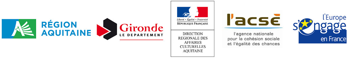Conseil Régional Aquitaine Conseil Départemental Gironde DRAC ACSE FSE